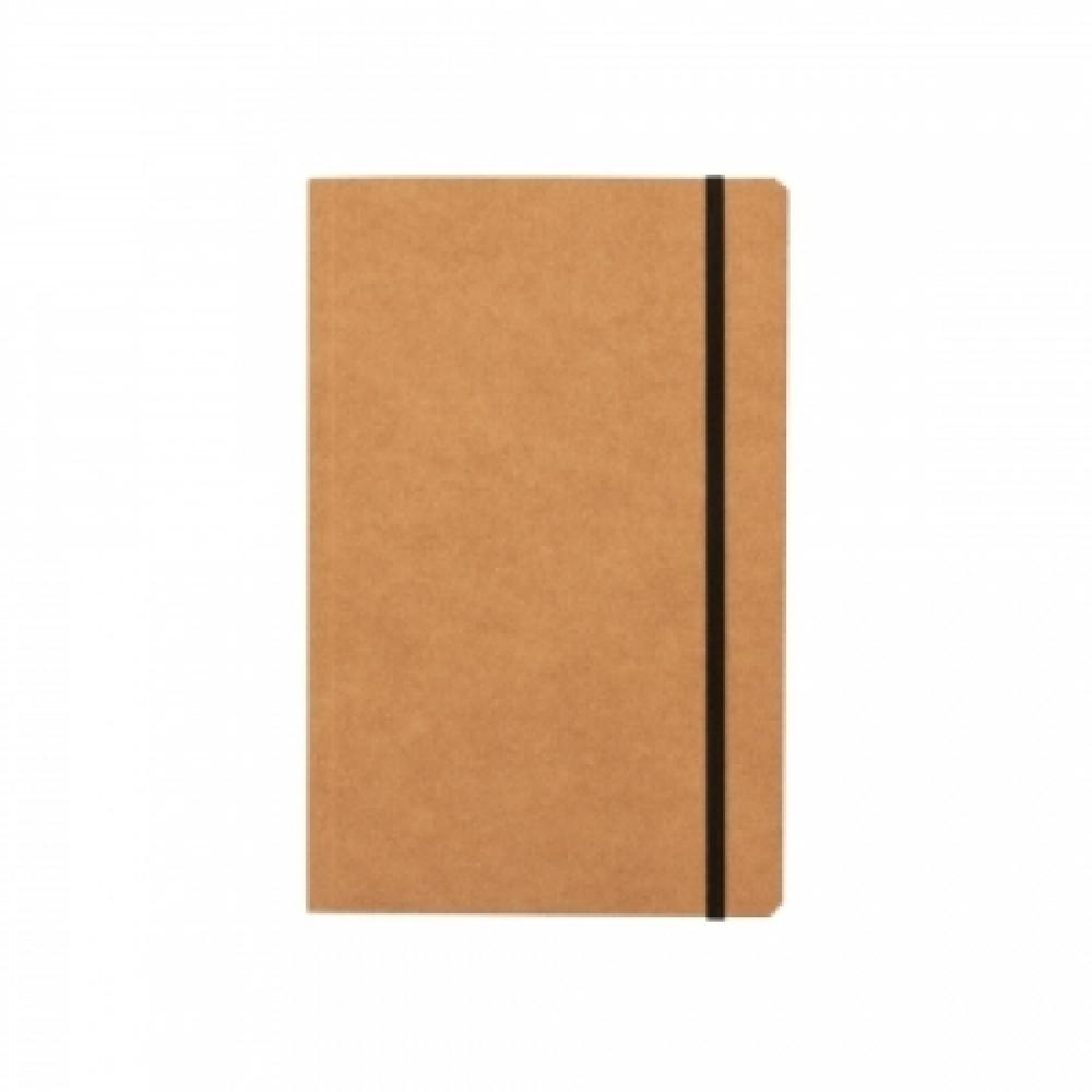 Caderneta tipo Moleskine Quadriculado