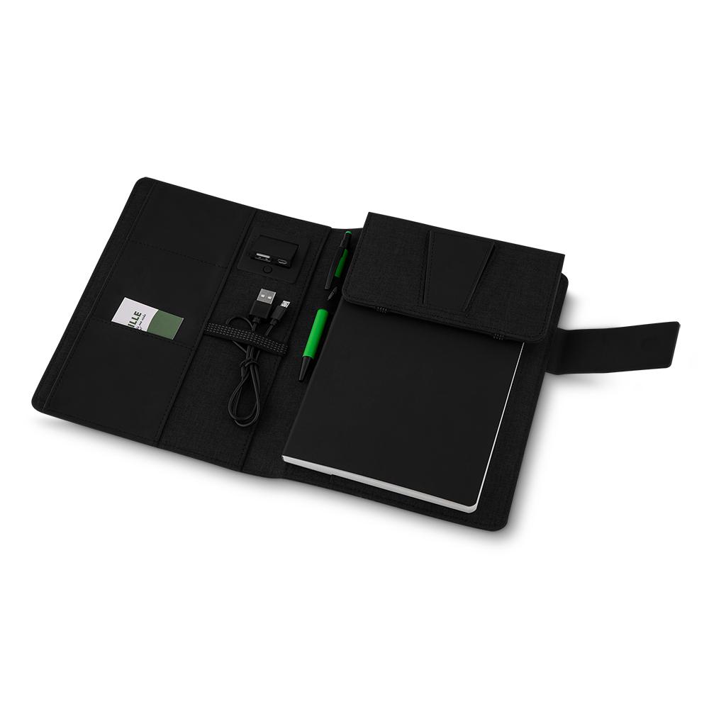 Caderno c/ Powerbank Indução