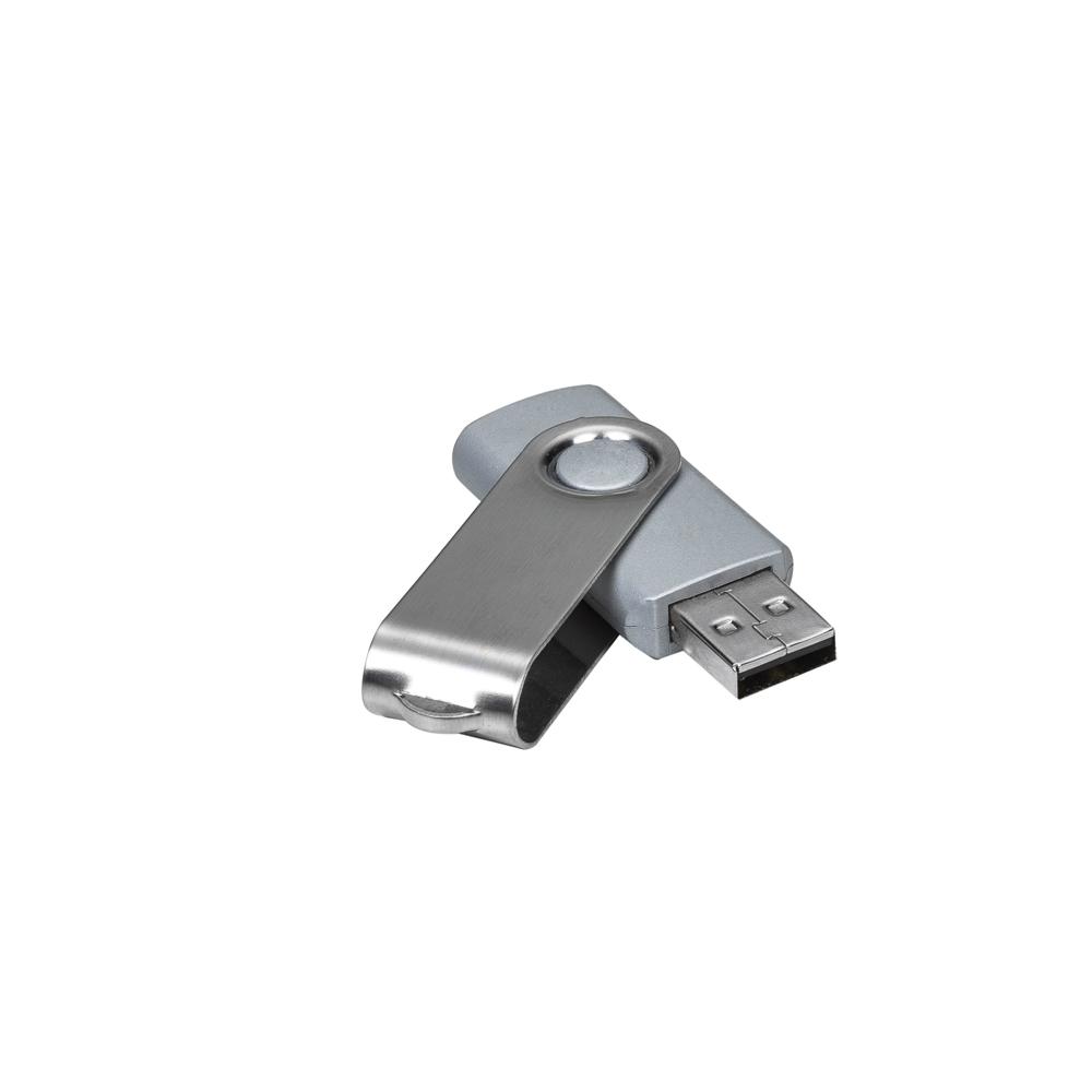 Pen Drive Giratório Metálico 4GB/8GB/16GB/32GB