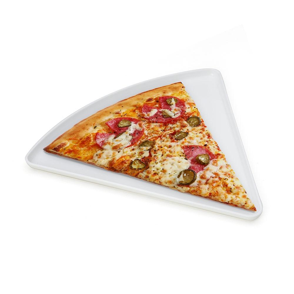 Prato Plástico Formato Pizza