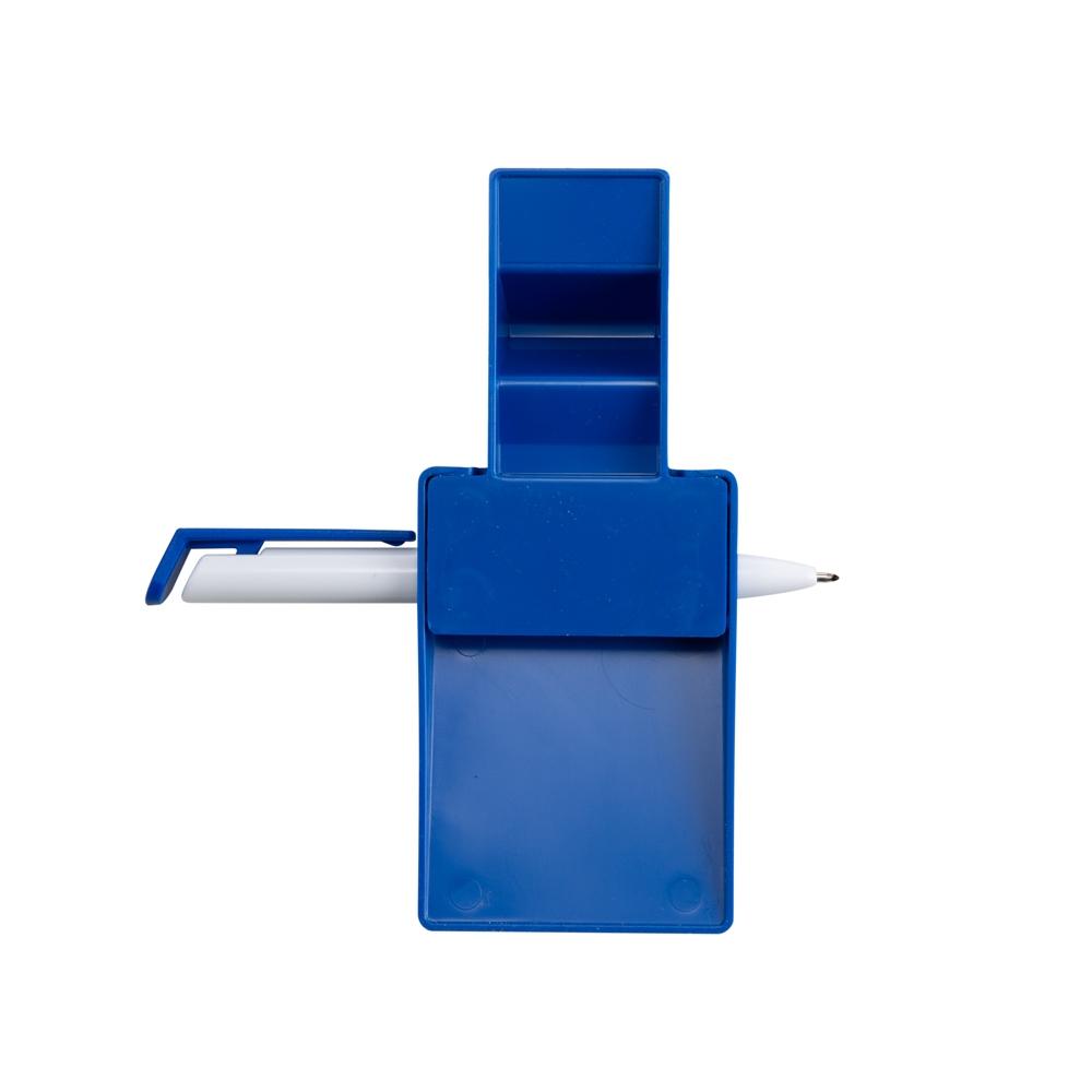 Suporte Plástico Celular com Caneta e Bloquinho